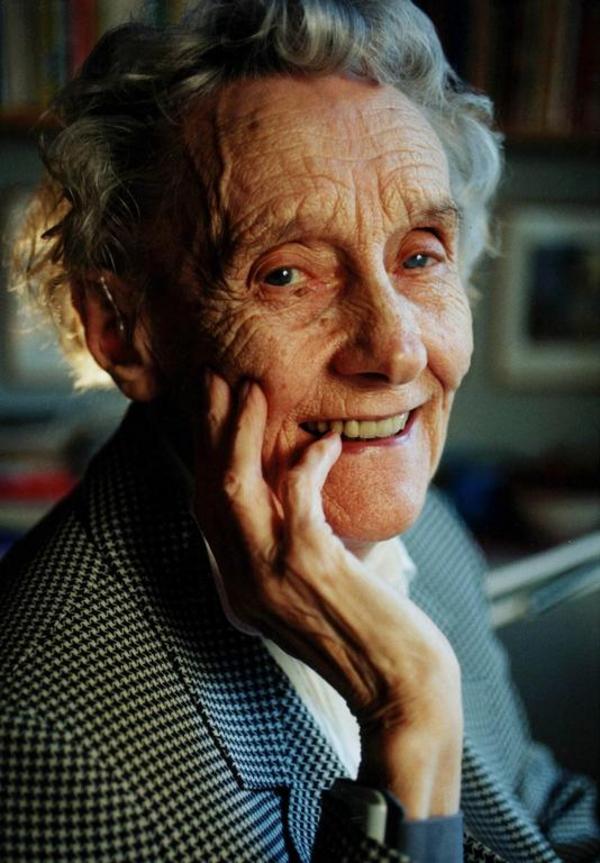 Portraet af Astrid Lindgren til artikel