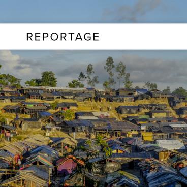 En flygtningelejr