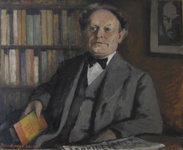 Maleri af Knudaage Larsen   1934 01